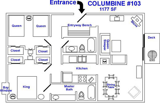 Breckenridge Lodging Columbine Ski Condo Rental